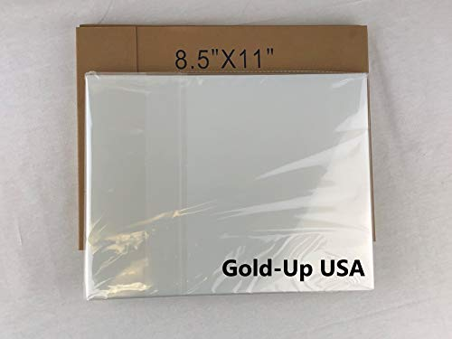 8.5'' x 11'' Waterproof Inkjet Transparency Film for Silk Screen Printing - 2 Pack (200 Sheets) (Transparency 11' Film)