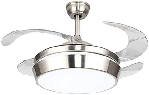 Light-S Ventiladores de Techo Invisibles con Ventilador de lámpara ...