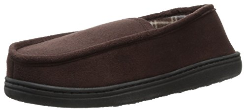 Perry Ellis Microsuede Slipper Fleece