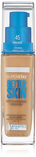 Maybelline Super Stay Better Skin Foundation, Sand Beige, 1 fl. - Sand In Sunglasses