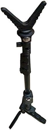 WQ-HUNTING, Accesorios de Caza para Exteriores Bipod para Rifle Disparador Stick Rack Disparos con V-Yoke Resto de Pistola/Rack Trípode de cámara Universal