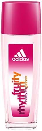 Adidas Fragrance Body Fragrance Fruity Rhythm for Women 2.5 Fluid Ounce Spray Bottle Body Spray for Everyday Use Fruity Fragrance
