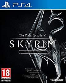 The Elder Scrolls V: Skyrim Special Edition - PlayStation 4 (Imported Version)