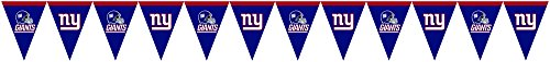 Creative Converting New York Giants Flag Banner Decoration (Nfl Party Decorations)