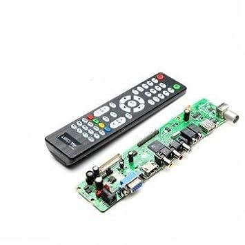 V59 lcd universal de controlador de tv tarjeta driver pc / VGA / HDMI / interfaz usb