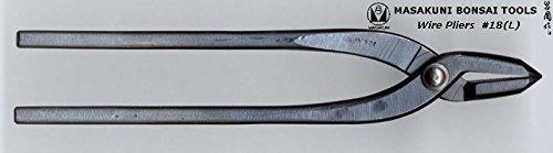 (0018L)Masakuni bonsai tool Wire pliers large by Masakuni