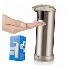 Sultan 95704 Touch Less Liquid Soap Dispenser, Holds 500ml