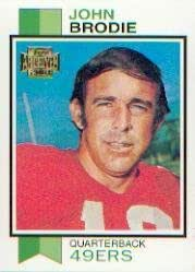 46add1f3f03d6 Amazon.com: 2001 Topps Archives Football Card #116 John Brodie Near ...