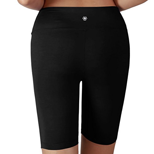 Yoga Women's Tummy Control Fitness Workout Running Yoga Shorts (S-3XL)