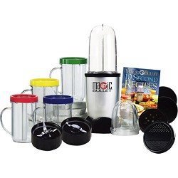 Magic Bullet マジックブレット ミキサー&ジューサー Express Deluxe 26-piece Mixer & Blender (25-piece with Bonus Ice Shaver Blade)