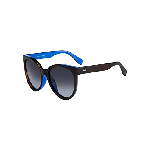 Fendi Havana Blue Cat Eye - Asian Eye Cat