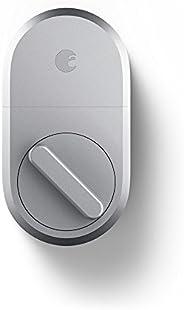 August Smart Lock Cerradura inteligente de tecnología de 3ª generación, 100, Plateado