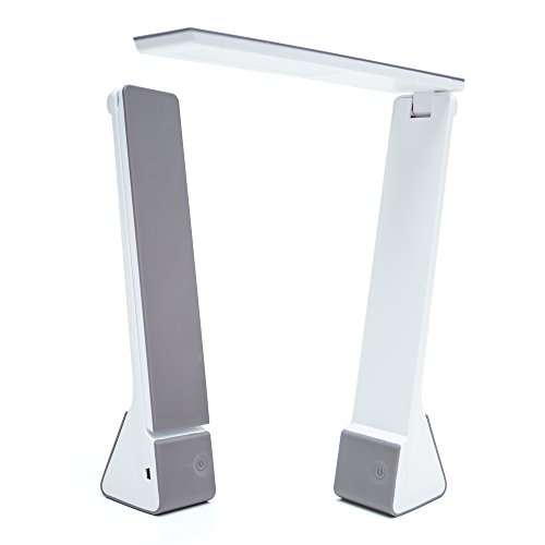 portable led desk lamp with rechargeable battery travel size 3 lighting choices ebay. Black Bedroom Furniture Sets. Home Design Ideas