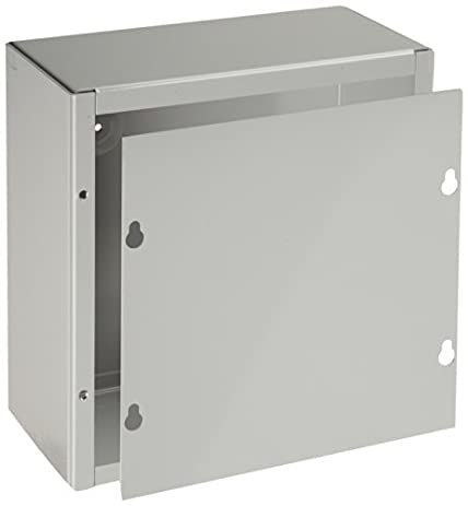 bud industries jb 3957 steel nema 1 sheet metal junction box with lift off - Sheet Metal Cover