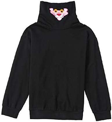 Primavera Otoño Jersey De Mujer Ropa De Manga Larga Blusa Algodón Cuello Alto Suelto Patrón De Dibujos Animados Anime Pullover Camisa Entrenamiento Top Casual Gran Tamaño Sudadera Camisas ,S: Amazon.es: Hogar