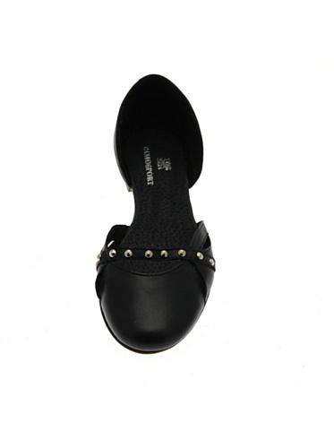 Piel para de negro Ramosport negro mujer Bailarinas negro qZxfEn8