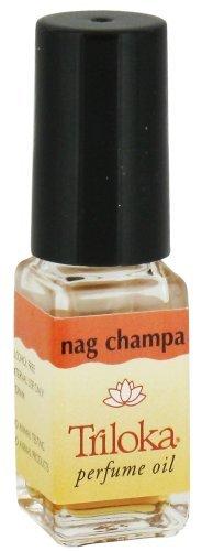 Nag Champa - Triloka Perfume Oil - 1/8 Ounce Bottle