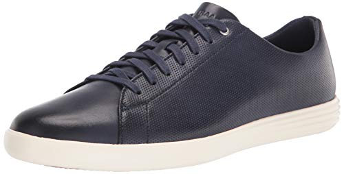 Cole Haan Men's Grand Crosscourt Sneaker, MARINE BLUE/GLACIER GRAY US 8W