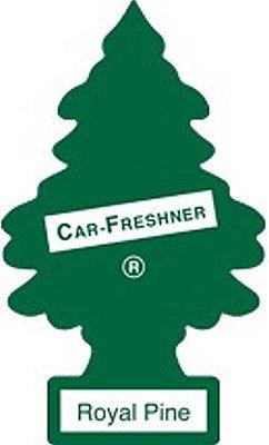 12 Pack Car Freshner 10101 Little Trees Air Freshener Royal Pine Scent - Single Tree per Package - Little Trees Car