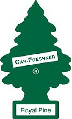 (12 Pack Car Freshner 10101 Little Trees Air Freshener Royal Pine Scent - Single Tree per Package )