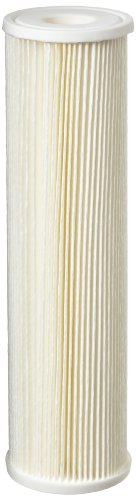 pentek-ecp5-10-pleated-cellulose-polyester-filter-cartridge-9-3-4-x-2-5-8-5-microns