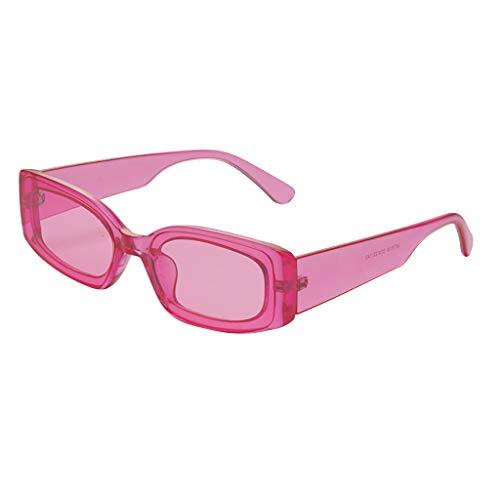 ab583c476e52 ASTV Women Transparent Stylish Hippie Sunglasses Fashion Eyewear Pink