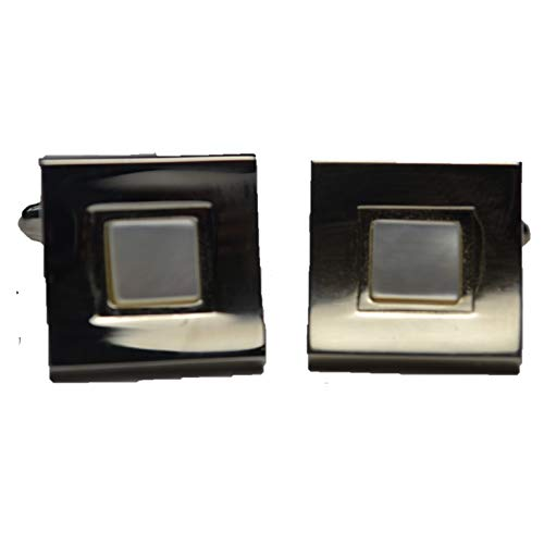 Used, Mario Zegna Rare Mother of Pearl Square Shaped Cufflinks for sale  Delivered anywhere in USA