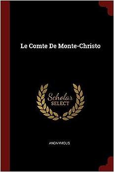 Book Le Comte De Monte-Christo