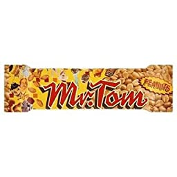 Mr. Tom Peanut Bar 40G X Case Of 36