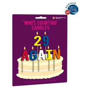 Fun Whos Counting Birthday Cake Candles