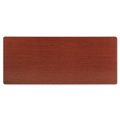 30d Bourbon Cherry (BSXBTR3072NHP Rectangular Training Table Top Without Grommets, 72w x 30d, Bourbon Cherry)