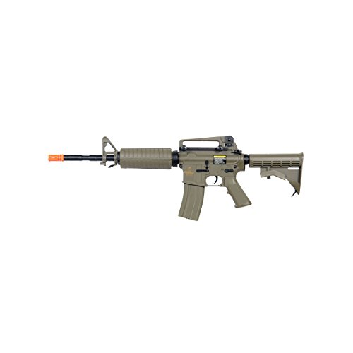 Lancer Tactical LT-06T M4A1 Airsoft Electric Gun Metal Gear FPS-400 - Dark Earth by Lancer Tactical