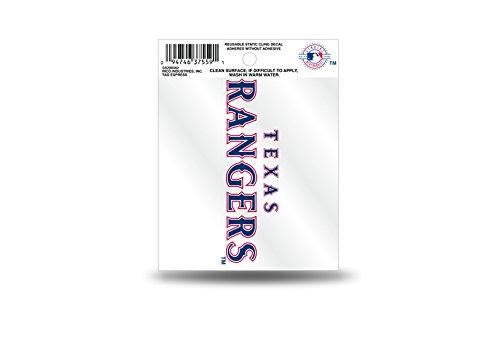 Rico MLB Texas Rangers Secondary Logo Small Static ()
