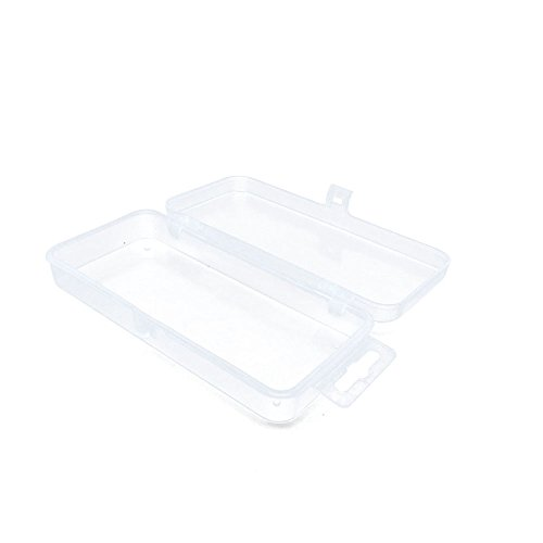 1 pcs Clear Beads Tackle Box Storage Tool Scrapbooking Stamping Fly Boxes Organizers Fishing Lures Small Parts Case Containers BX006