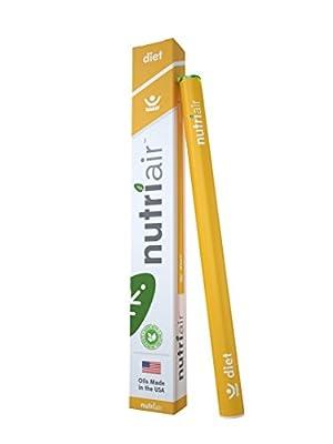 Nutriair Diet - Nutritional Supplement Inhaler - INSTANT Appetite Suppressant - BLOCK Food Cravings - Control Calorie Intake
