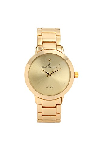 Charles Raymond Elegantly Casual Gold-Tone Metal Watch - - Charles Raymond Watches For Men