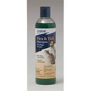 Zodiac Flea and Tick Shampoo for Dogs and Cats 12 oz. 78