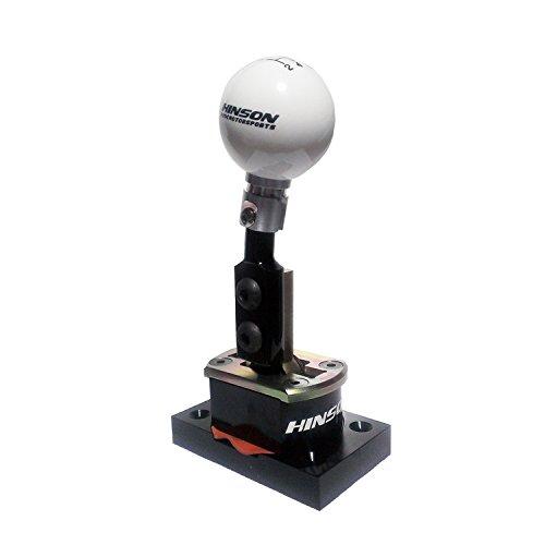 - HINSON C6 Corvette Short Throw Shifter 2005-2013 Manual Transmission (White Shift Ball)