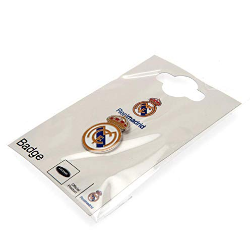 Official Real Madrid Crest Metal Pin - Badge Madrid Real
