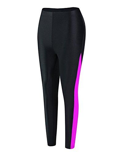 EYCE Dive & SAIL Women's 1.5mm Neoprene Wetsuit Pants Diving Snorkeling Scuba Surf Canoe Pants (Purple, Small)