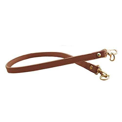 "TopTie 23"" Long PU Shoulder Bag Strap, Replacement Strap with Golden Hooks-Camel / Golden Hook -  PSNJ-ES95620_CAMEL"