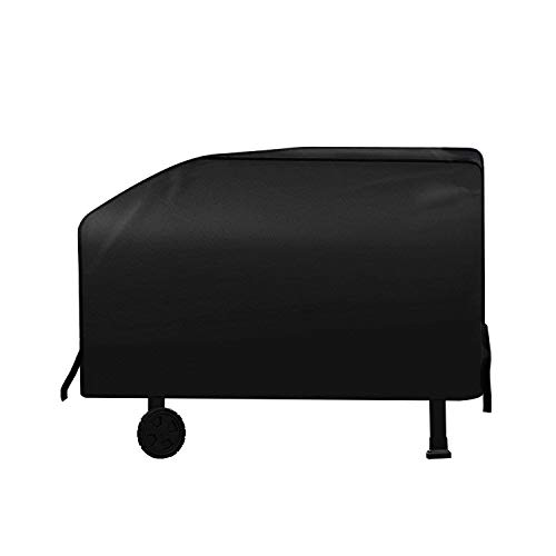 - SunPatio Outdoor Grill Griddle Cover, Flat Top Griddle Station Cover, Fits Blackstone 28 Inch Grill Griddle and More Grills, Heavy Duty Fade Resistant, Come with 12 Inch Support Pole, Black