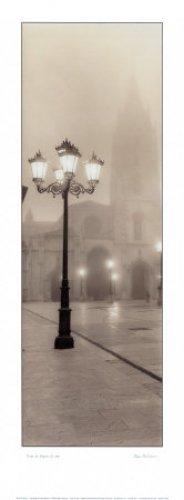 Alan Blaustein Plaza - Plaza De Espania, Oviedo - Art Print / Poster (Artist: Alan Blaustein) (Size: 9