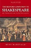 img - for The Bedford Companion to Shakespeare ,An Introduction With Documents 2nd edition book / textbook / text book