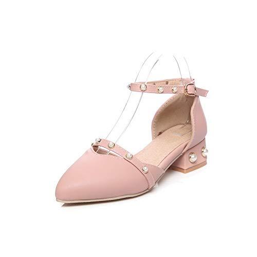 Rose Femme 5 Rose Sandales EU 36 Aimint EYR00260 Compensées fa4xwvvI