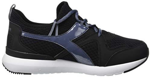 Diadora T3ch Gymnastique De Wn 80008 Chaussures Noir nero Femme Run Corvo ZqwfArnxZ