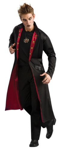 Vampire Pirate Costumes (Rubie's Costume Vampire Coat, Black, One Size)