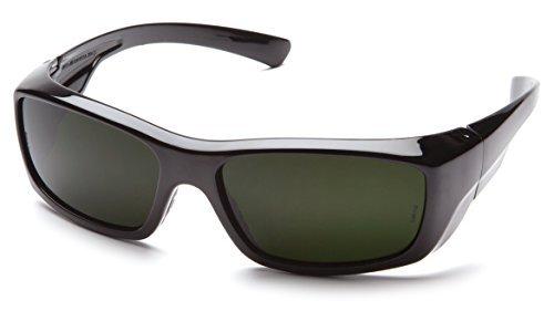 Pyramex SB7960SF Emerge Welding Protection Safety Eyewear with 3.0 IR Filter Lens, Black by Pyramex Safety