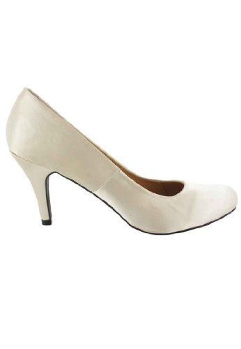 Andres Machado - Zapatos de vestir para mujer Beige beige