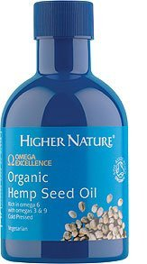 Org Hemp (Omega Excellence Org Hemp Seed Oil 200ml by Higher Nature)